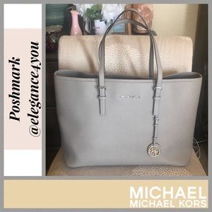 ✨MICHAEL KORS✨Authentic Large Gray Tote